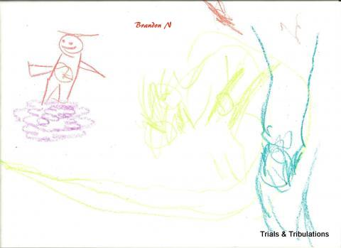 Brandon's picture for Diabetes Art Day 2010
