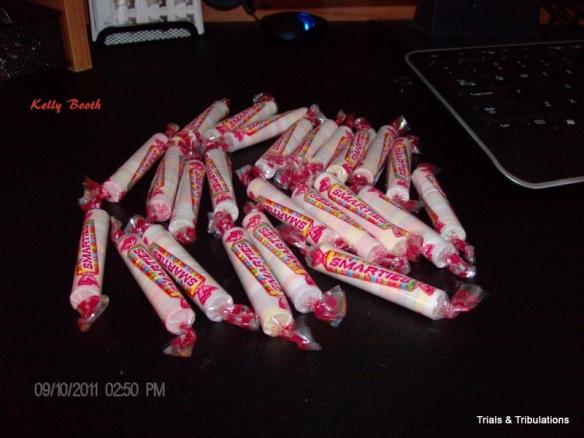 24 packs of Smarties