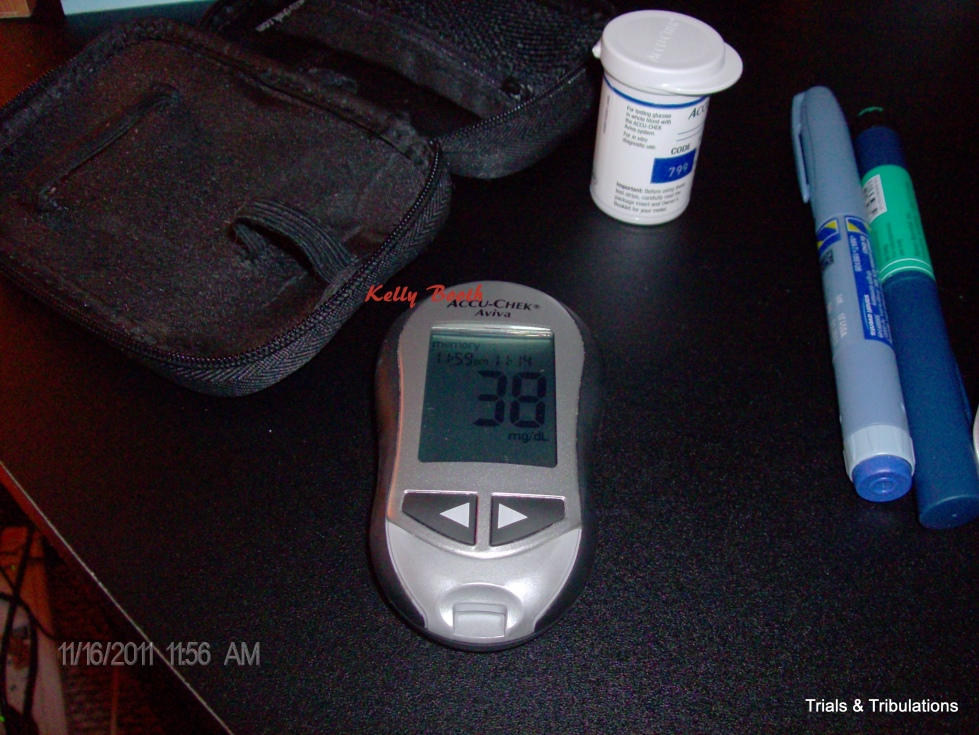 Blood sugar 38 on World Diabetes Day