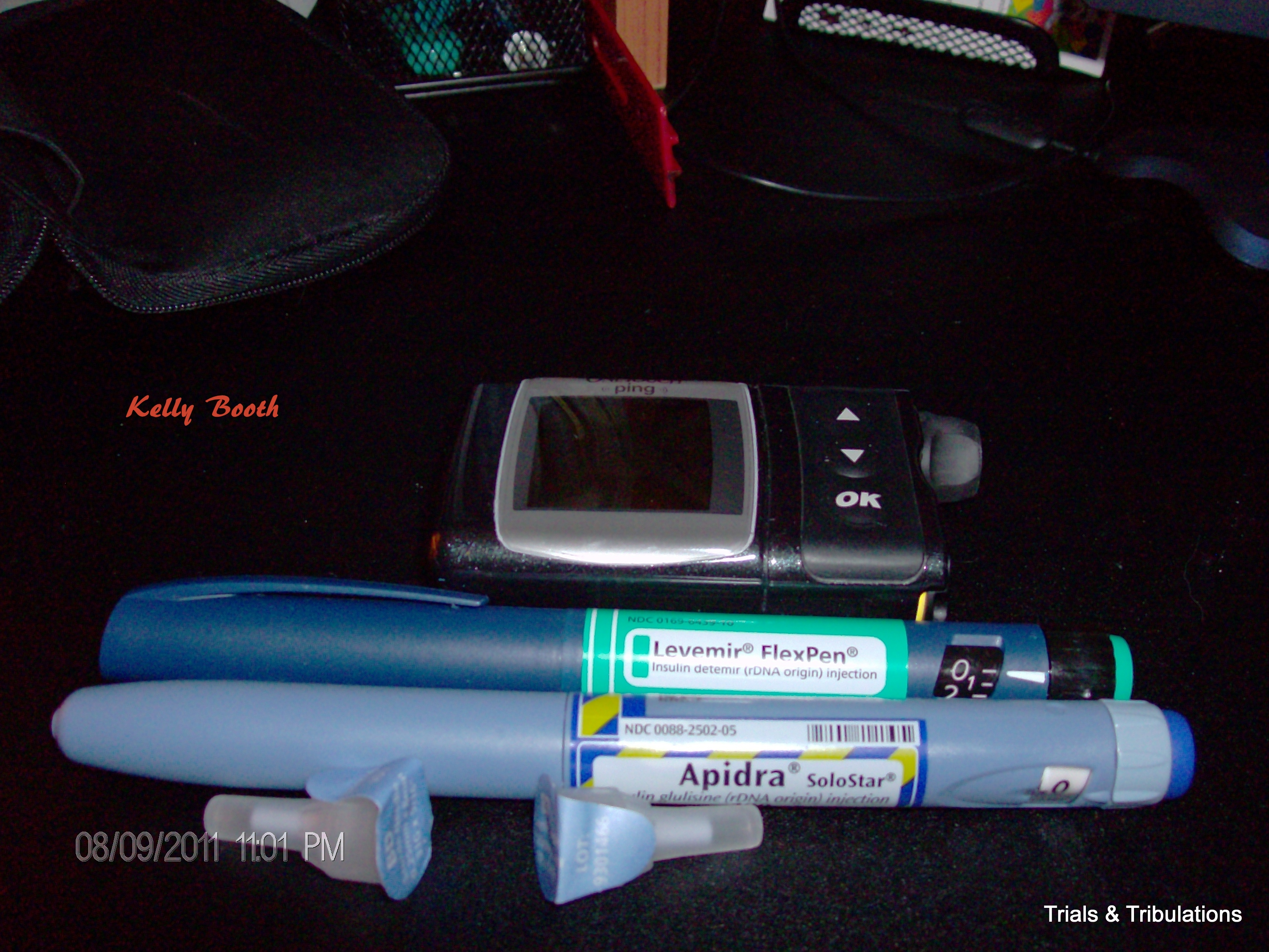 Insulin pens and insulin pump