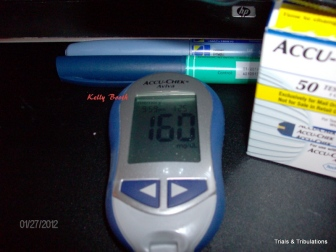 Blood Sugar 160
