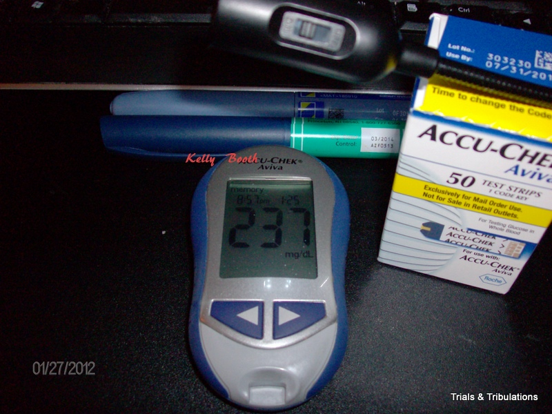 Blood Sugar 237