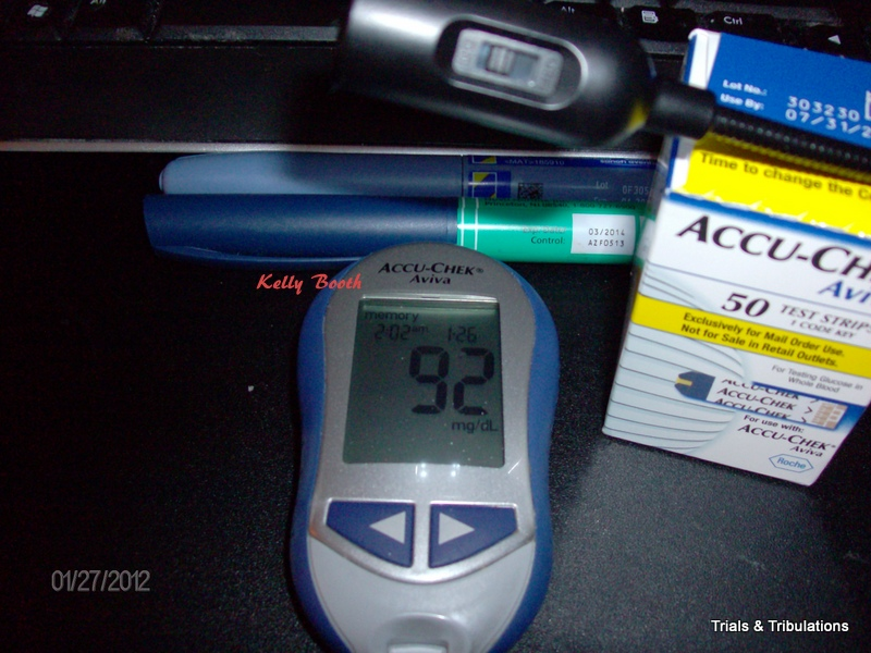 Blood Sugar 92