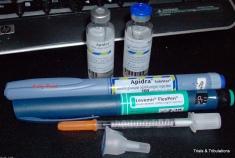Pens and vials