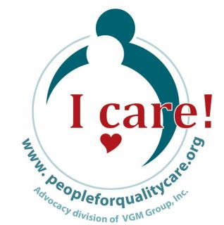 People For Quality Care Badge