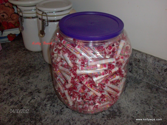 Giant Container of Smarties
