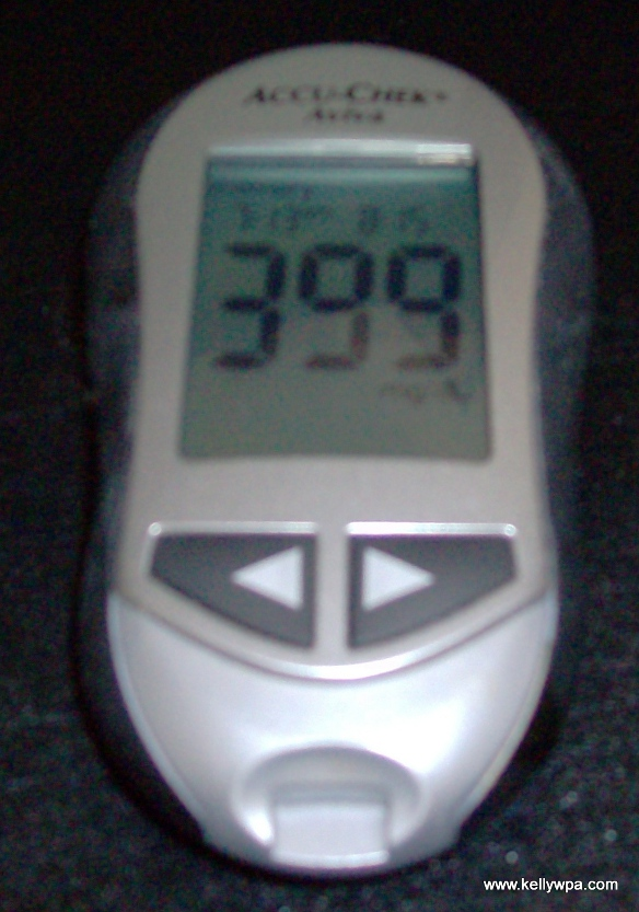 Blood sugar 399
