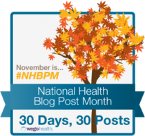 Wego Health National Blog Posting Month