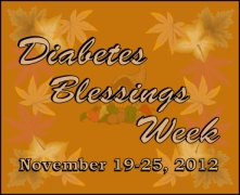 Diabetes Blessings Week